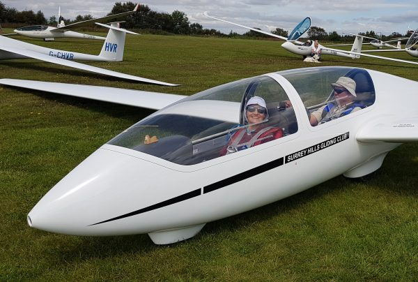 Learn to fly at Surrey Hills Gliding Club. Trial flying vouchers available from £45