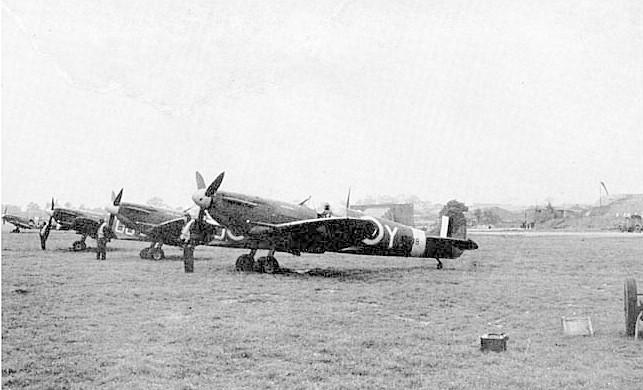 Spitfires at RAF Kenley